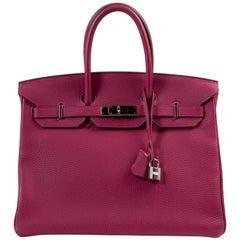 Hermès Birkin 35 Veau Togo Tosca PHW