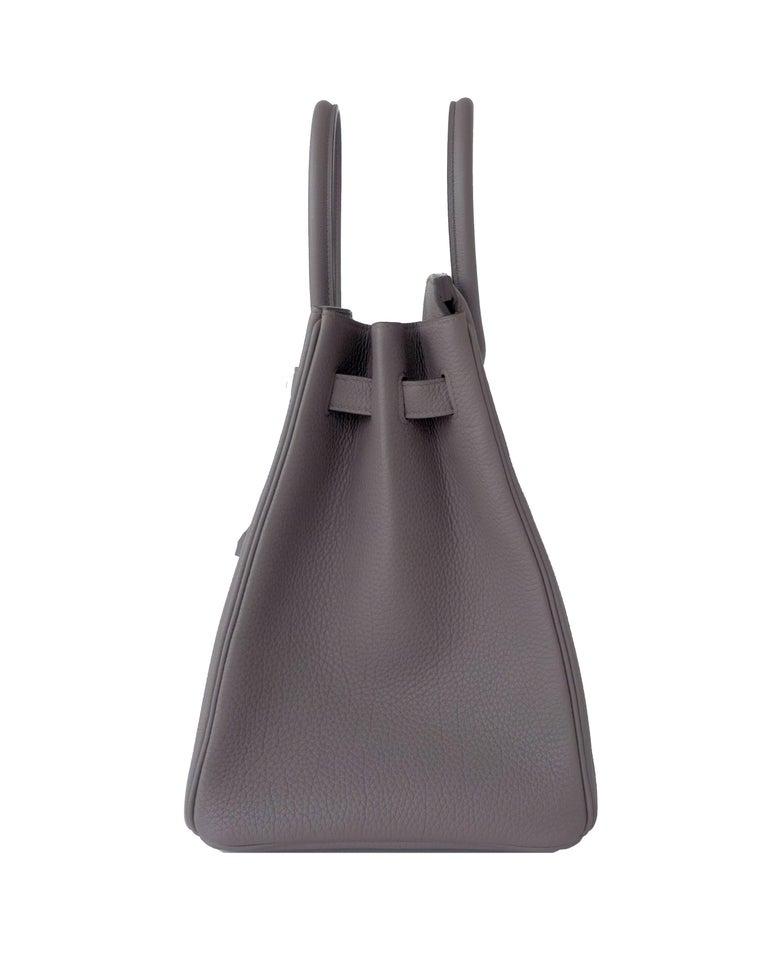 Hermes Birkin 35cm Etain Togo