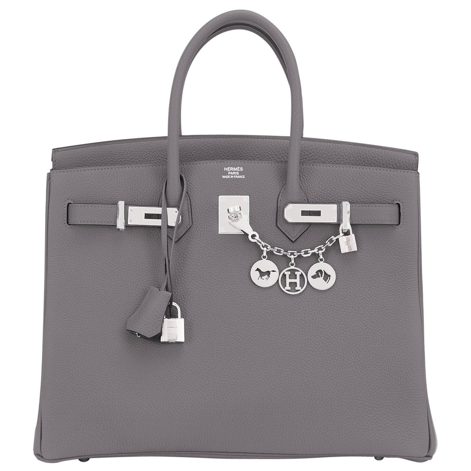 "Hermes Birkin 35cm Etain Togo ""Tin Grey"" Palladium Hardware Bag Z Stamp, 2021"