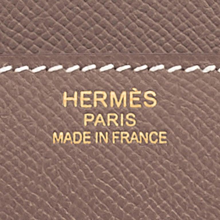 Hermes Birkin 35cm Etoupe Epsom Taupe Gold Hardware Bag Y Stamp, 2020 For Sale 3