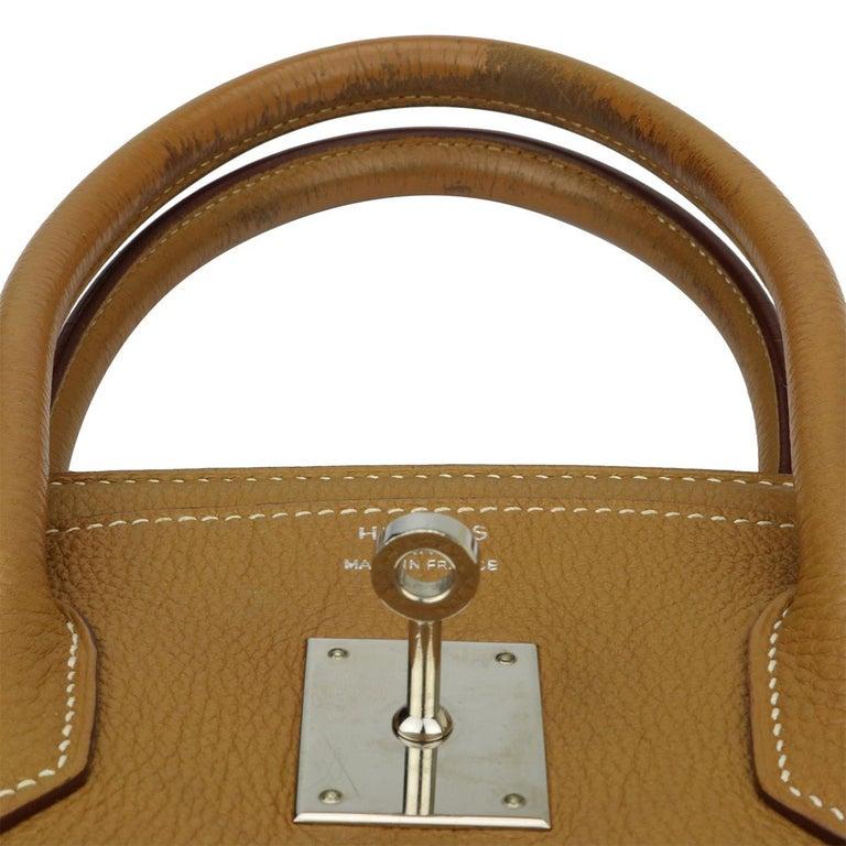 Hermès Birkin 35cm Gold Togo Leather with Palladium Hardware Stamp K Year 2007 9
