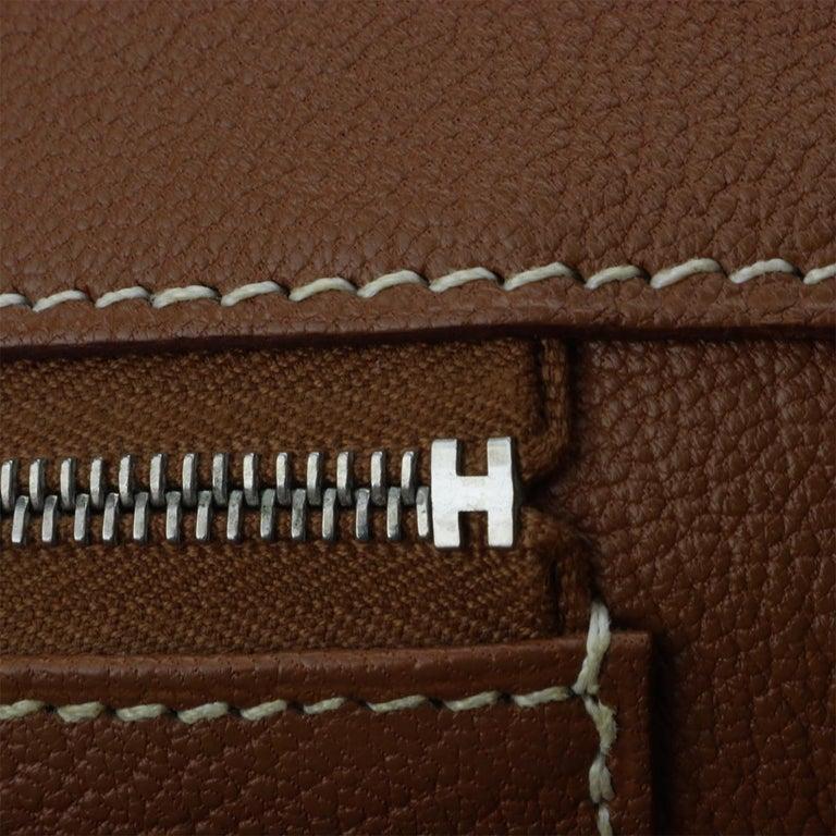 Hermès Birkin 35cm Gold Togo Leather with Palladium Hardware Stamp K Year 2007 12