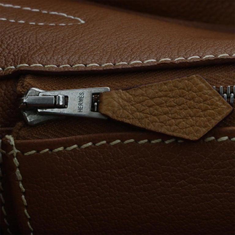 Hermès Birkin 35cm Gold Togo Leather with Palladium Hardware Stamp K Year 2007 13