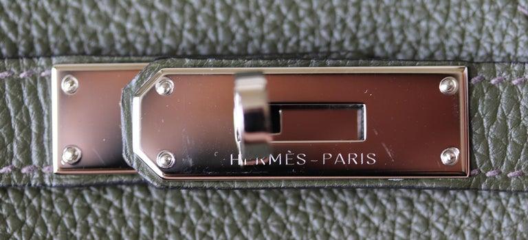 Hermès Birkin 35CM Togo Palladium H/W Bag For Sale 5