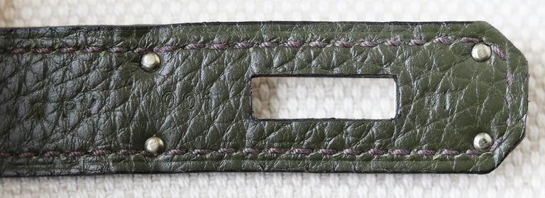 Hermès Birkin 35CM Togo Palladium H/W Bag For Sale 6