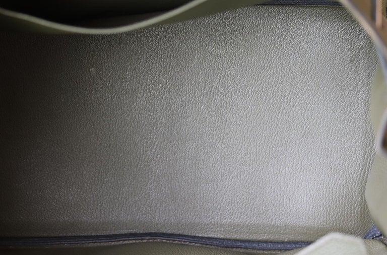 Hermès Birkin 35CM Togo Palladium H/W Bag For Sale 7