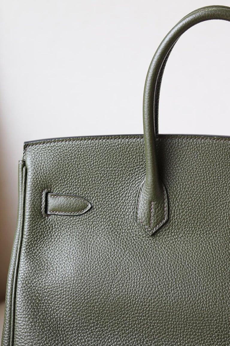 Hermès Birkin 35CM Togo Palladium H/W Bag For Sale 1