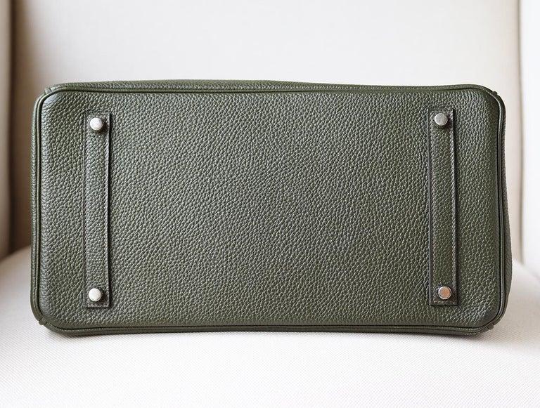 Hermès Birkin 35CM Togo Palladium H/W Bag For Sale 2