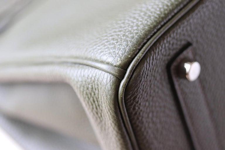 Hermès Birkin 35CM Togo Palladium H/W Bag For Sale 4