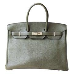 Hermès Birkin 35CM Togo Palladium H/W Bag