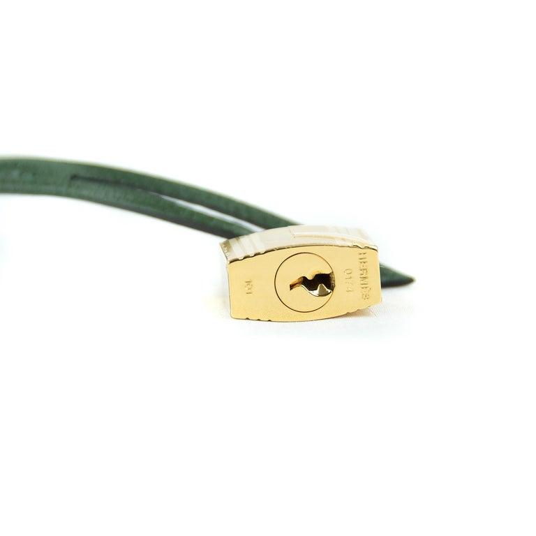 Hermes Birkin 35cm Vert Fonce Epsom GHW For Sale 3