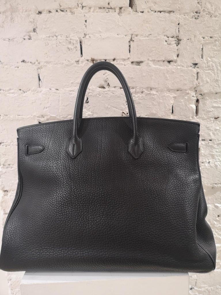 Hermes Birkin 40 Black  11