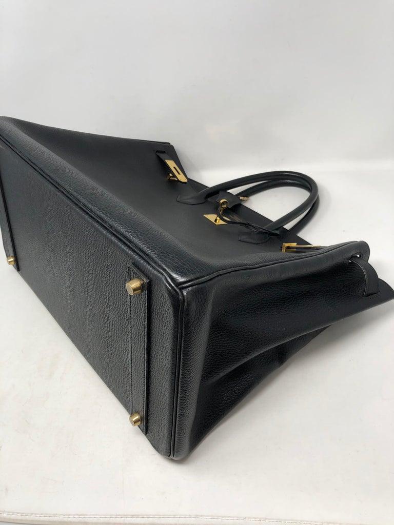 Hermes Birkin 40 Black  For Sale 10