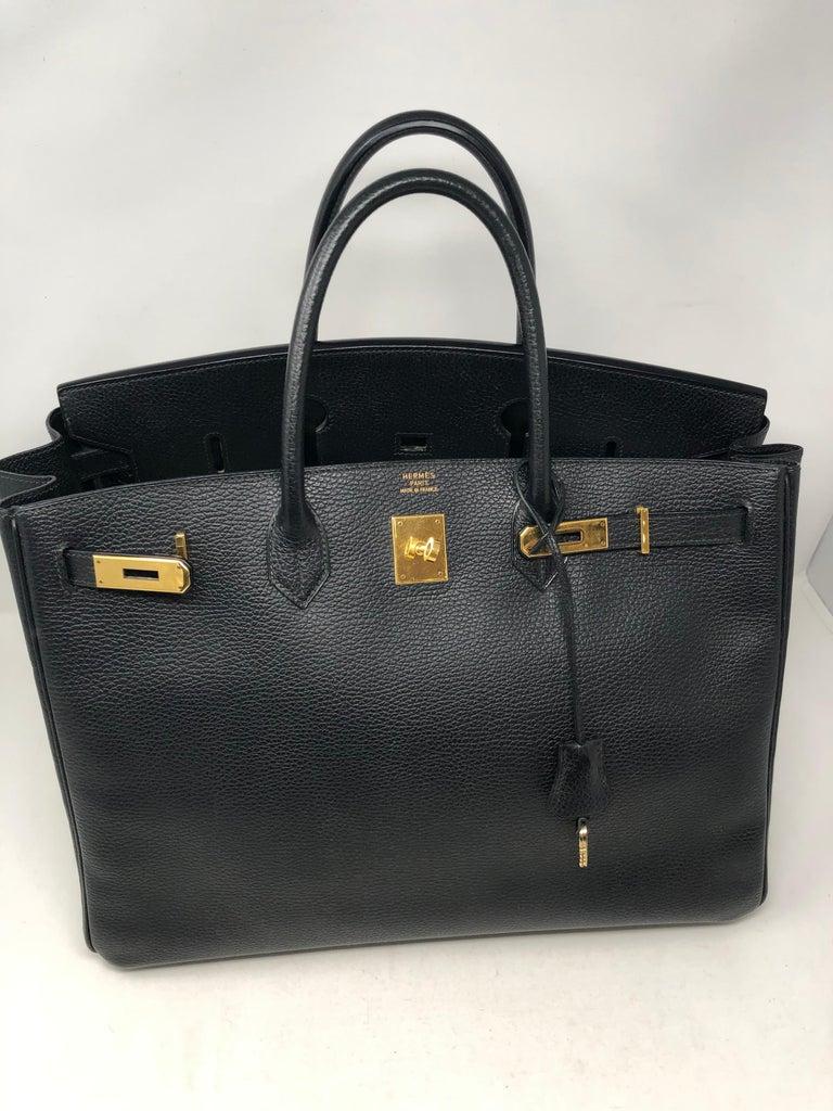 Hermes Birkin 40 Black  For Sale 12