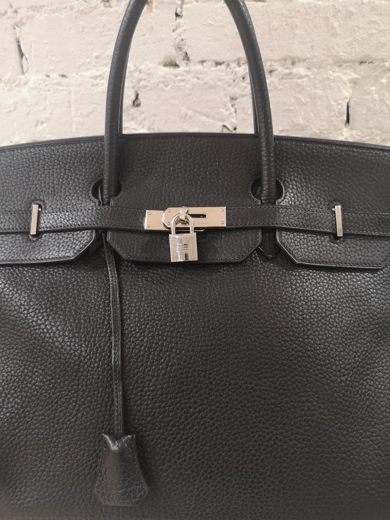 Hermes Birkin 40 Black  6
