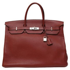 Hermès Birkin 40 Bordeaux burgundy bag