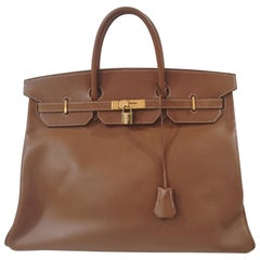Hermes Birkin 40 courchevel gold