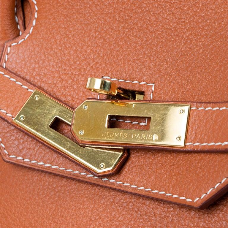 Hermès Birkin 40 Etrusque Clemence Taurillon GHW  6