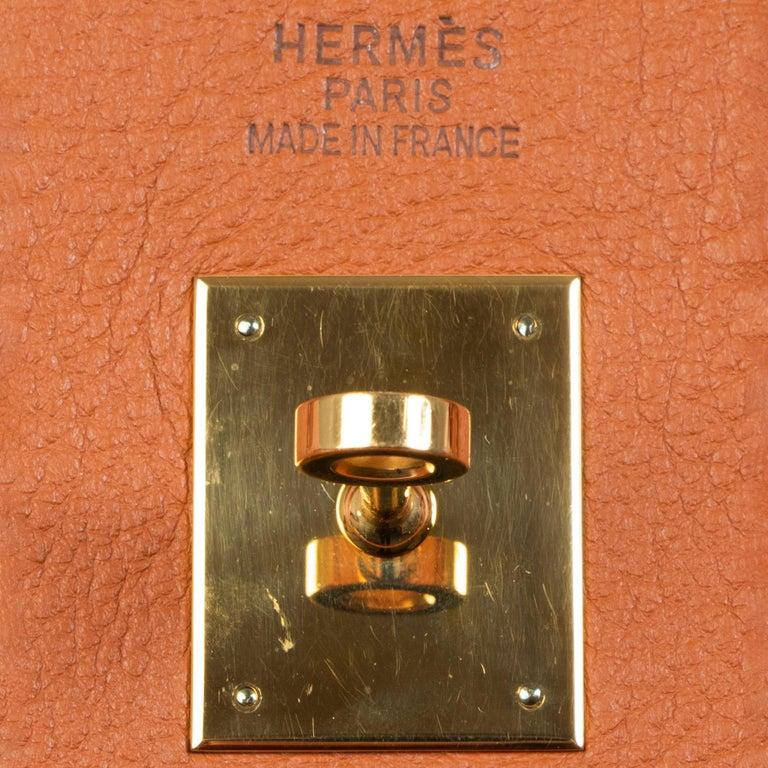 Hermès Birkin 40 Etrusque Clemence Taurillon GHW  7