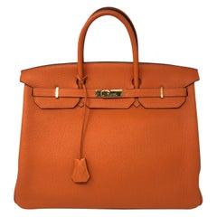 Hermes Birkin 40 Orange