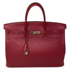 Hermes Birkin 40 Rubis Bag
