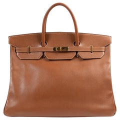 Hermès Birkin 40cm Gold Cuir Courchevel