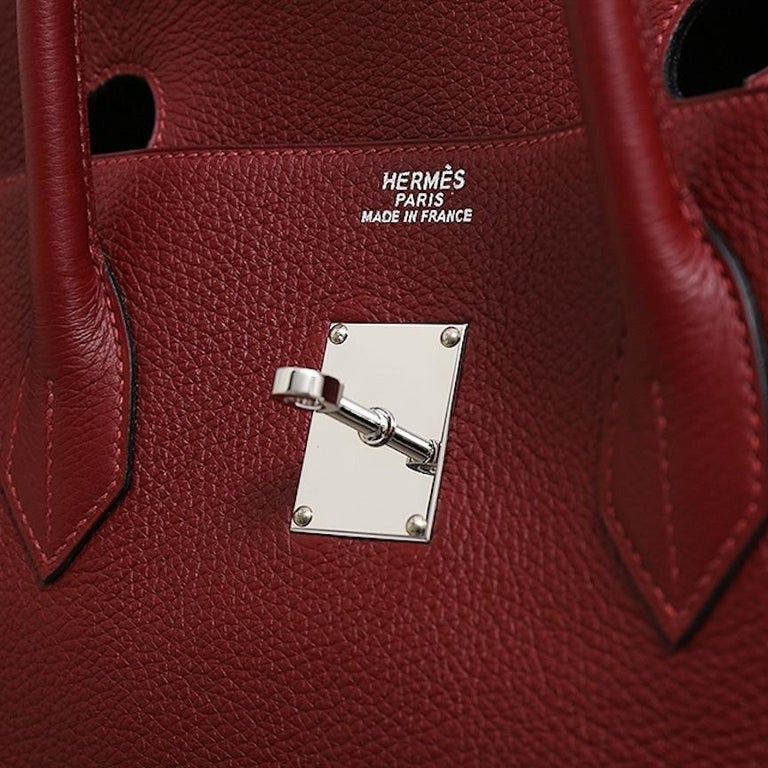 The All-Purpose Hermes Birkin You Need.    The motherlode of Hermes Birkin bags, this chic and smart Hermes Birkin 50 is the epitome of a lifestyle accessory.  Handcrafted of supple leather and enriched with palladium tone hardware, it is ideal for