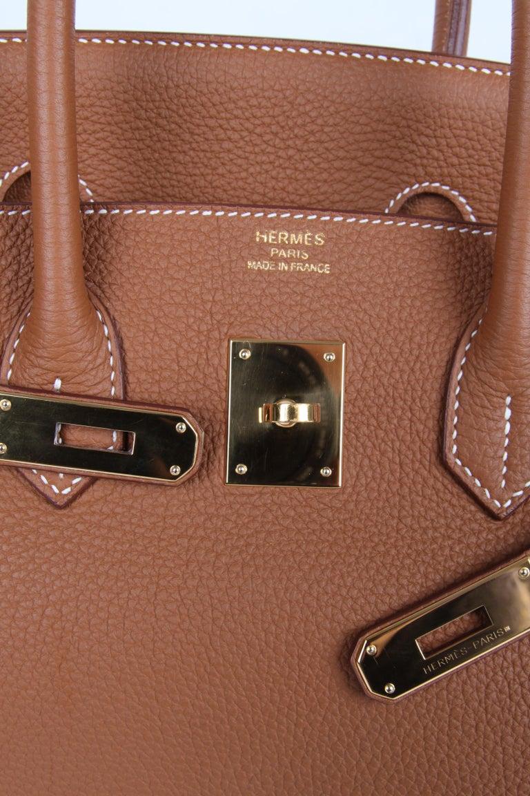 e97c612f6d Hermes Birkin Bag 35 Gold Togo - goldtone hardware For Sale 1