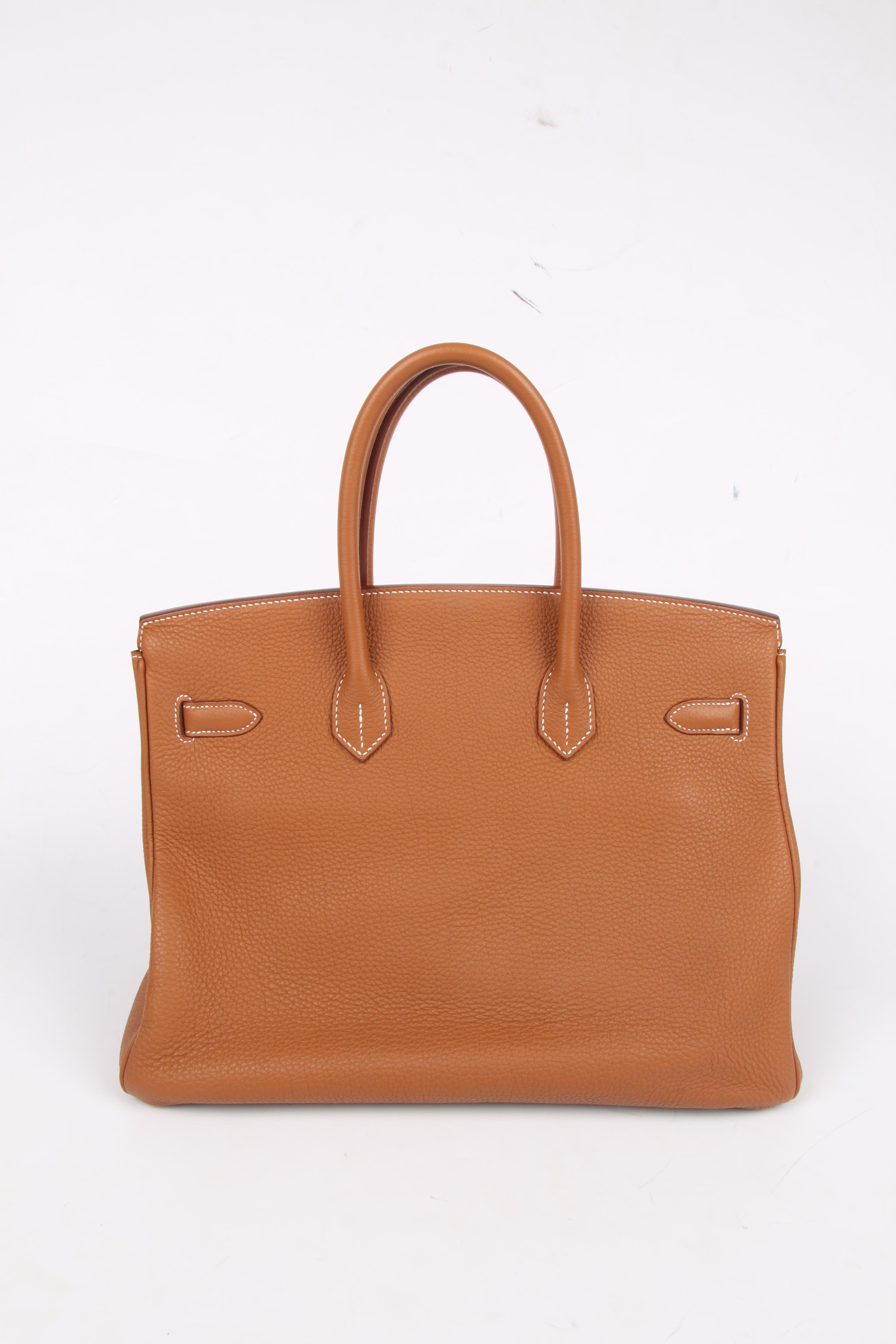 2e94e8af5d Hermes Birkin Bag 35 Gold Togo - goldtone hardware at 1stdibs