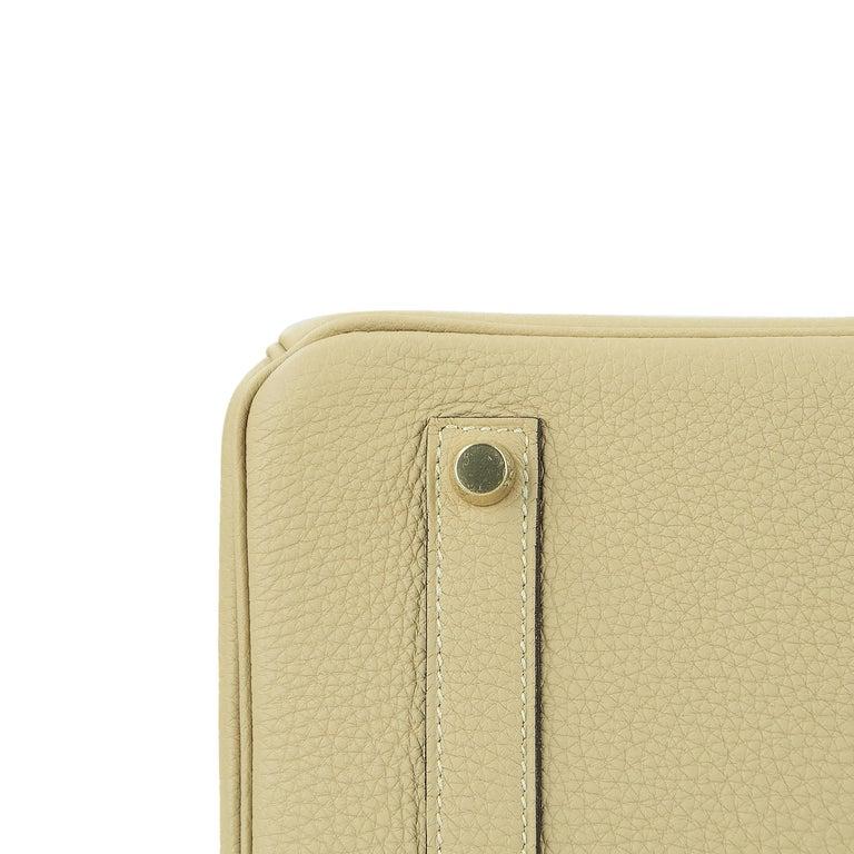 Hermes Birkin Bag 35cm Argile Togo GHW For Sale 1