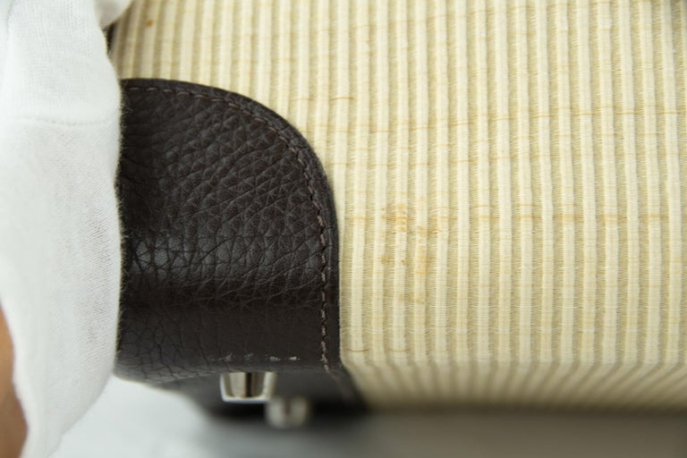 Hermes Birkin Bag 35cm Chocolate Togo Crinolin PHW (Pre Owned) For Sale 4