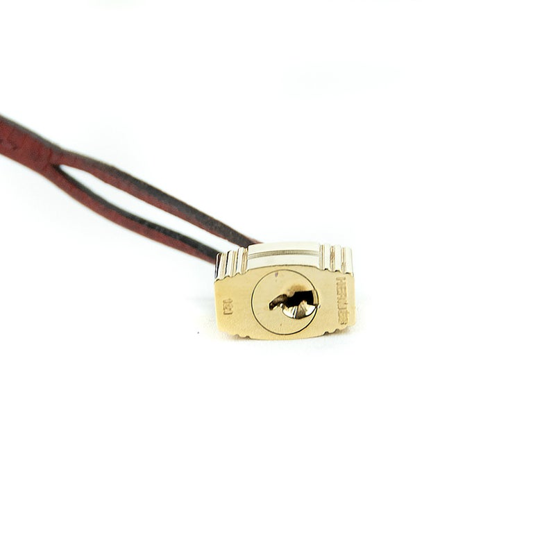 Hermes Birkin Bag 35cm Rouge H Buffalo Crinoline Birkin GHW (Pre Owned) For Sale 2