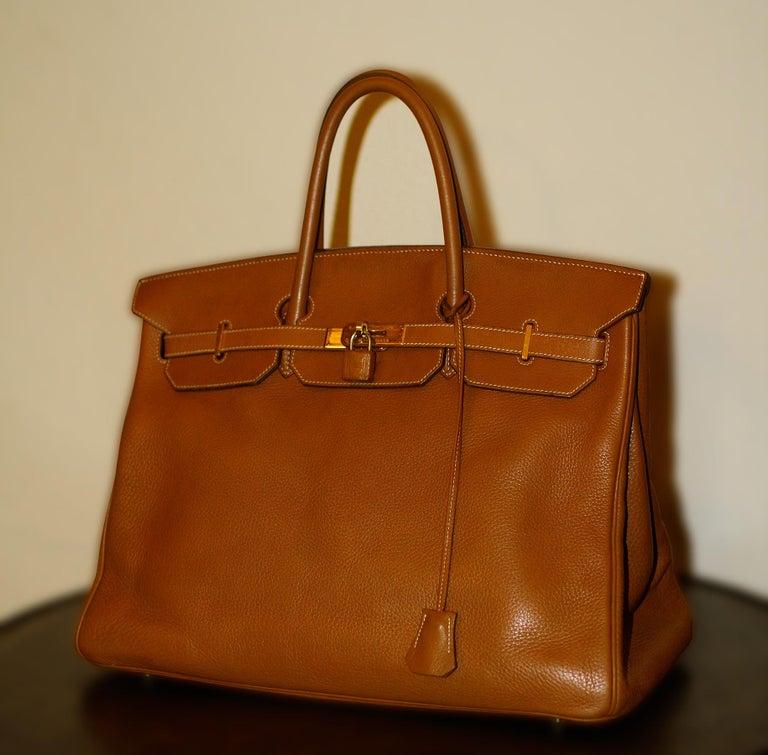 French Hermès Birkin Bag 40 from Hermès Staff For Sale