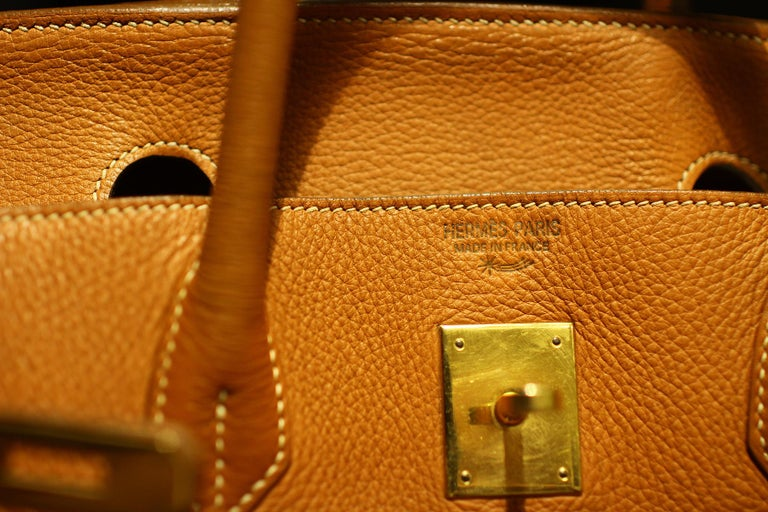 Metal Hermès Birkin Bag 40 from Hermès Staff For Sale