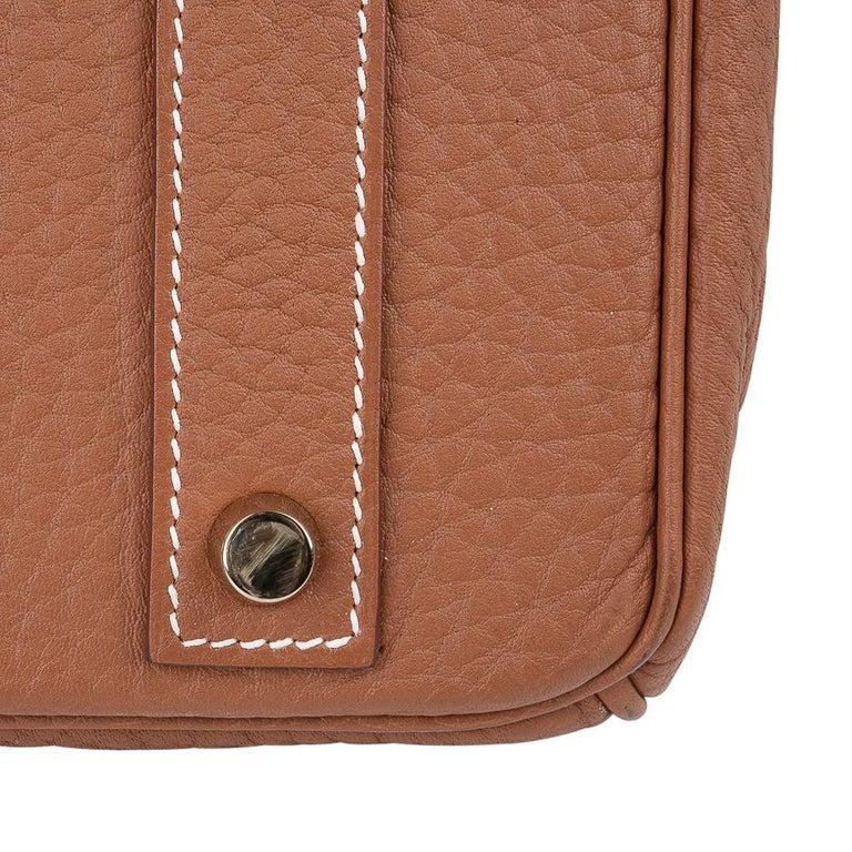Hermes Birkin Bag 40 Iconic Gold Clemence Gold Hardware For Sale 11