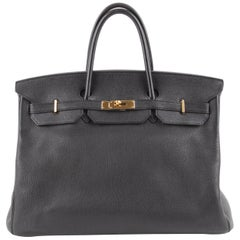 Hermes Birkin Bag 40 Togo - black