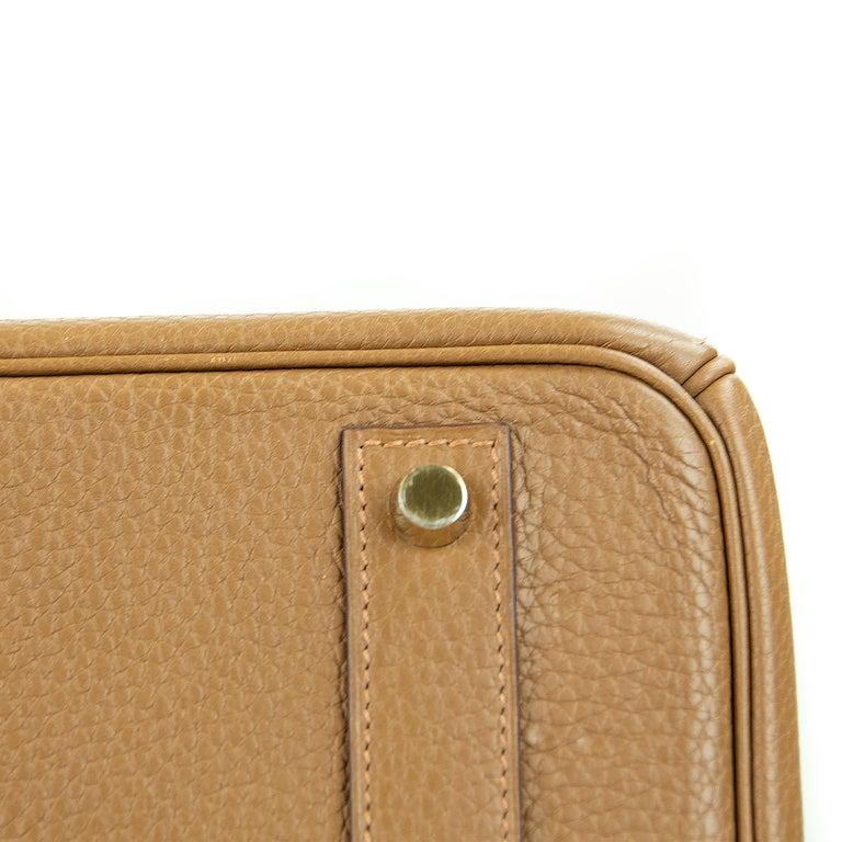 Women's or Men's Hermes Birkin Bag 40cm Alezan GHW For Sale