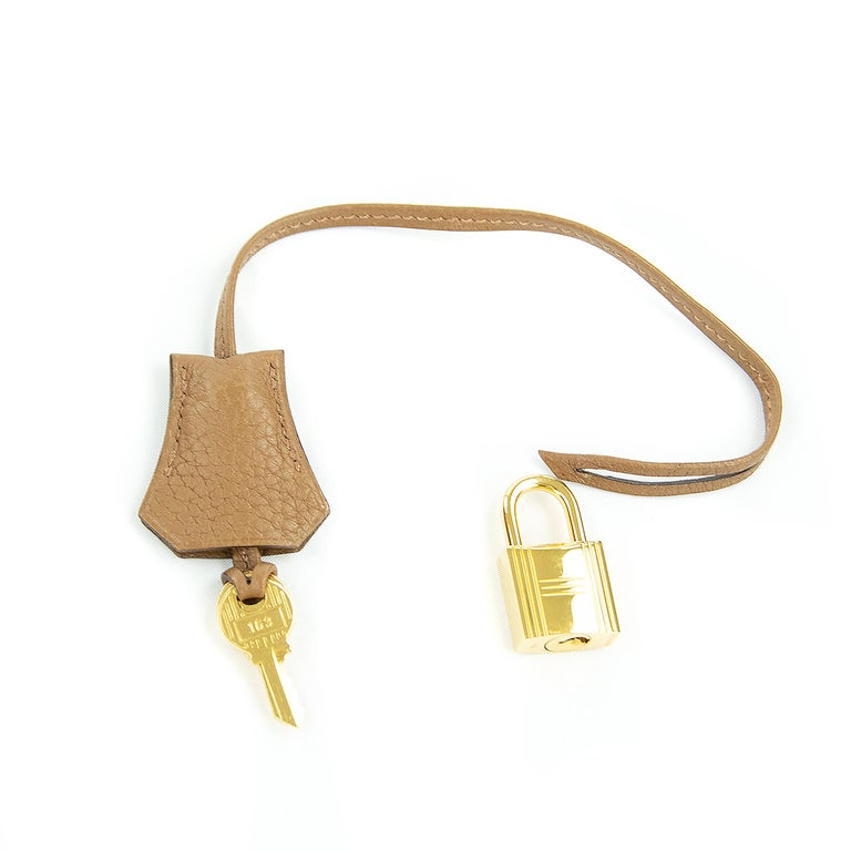 Hermes Birkin Bag 40cm Alezan GHW For Sale 1