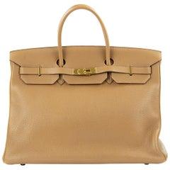 Hermes Birkin Bag 40cm Alezan GHW