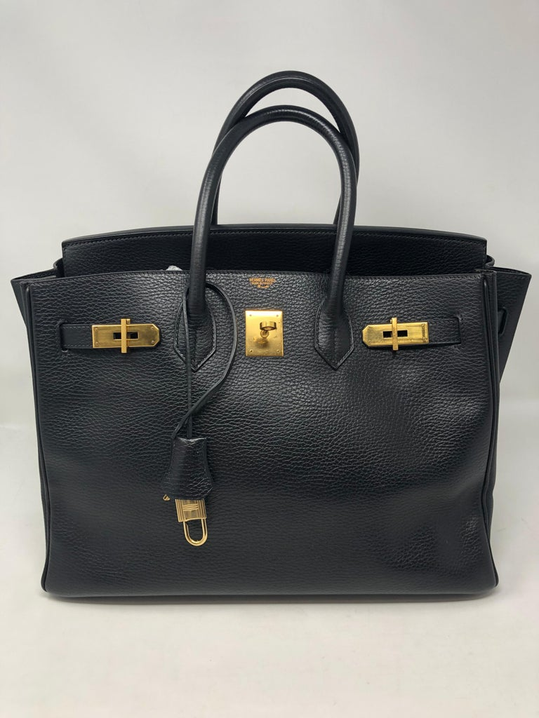 e7a77894061 Hermes Birkin Black 35 at 1stdibs