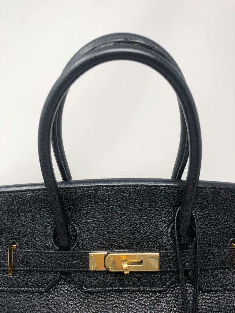 Hermès Birkin Black 35 GHW  For Sale 6