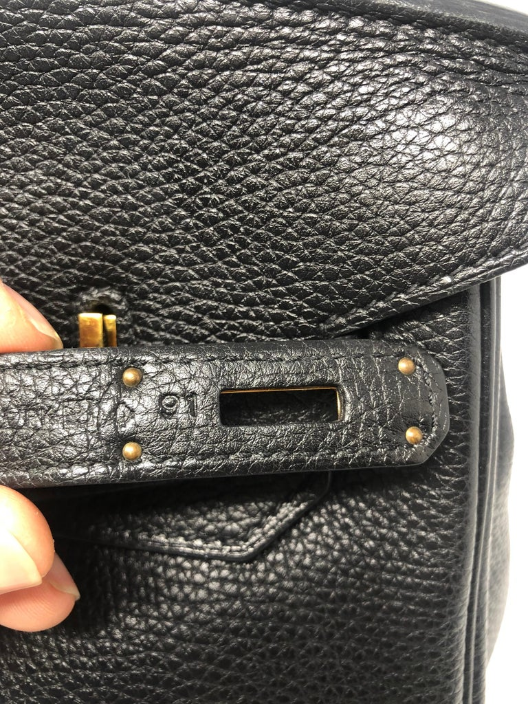 Hermès Birkin Black 35 GHW  For Sale 8