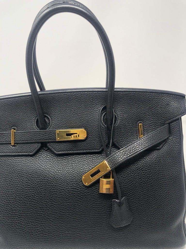 Hermès Birkin Black 35 GHW  For Sale 10