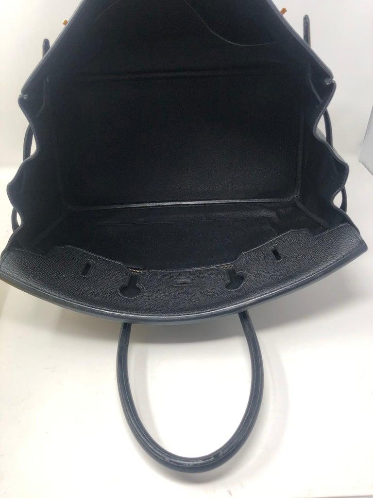 Hermès Birkin Black 35 GHW  For Sale 11