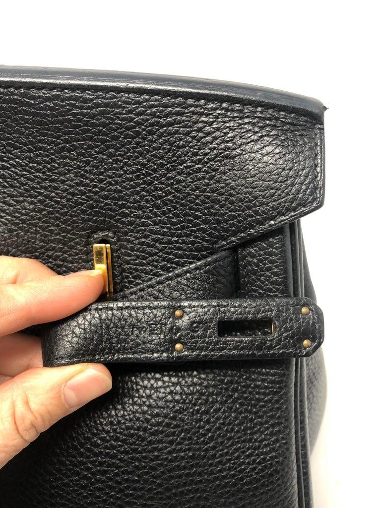 Hermès Birkin Black 35 GHW  For Sale 12