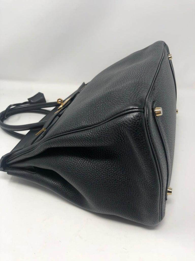 Hermès Birkin Black 35 GHW  For Sale 13