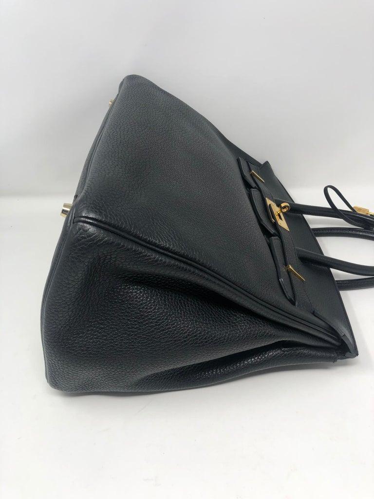 Hermès Birkin Black 35 GHW  For Sale 14