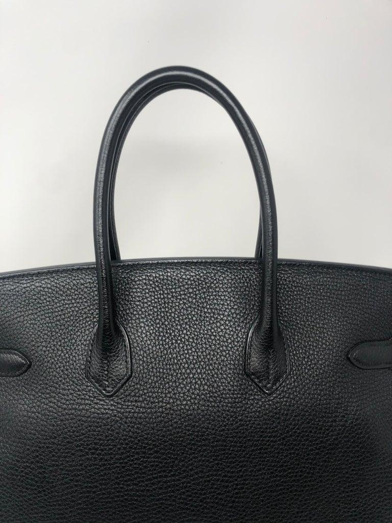 Hermès Birkin Black 35 GHW  For Sale 1