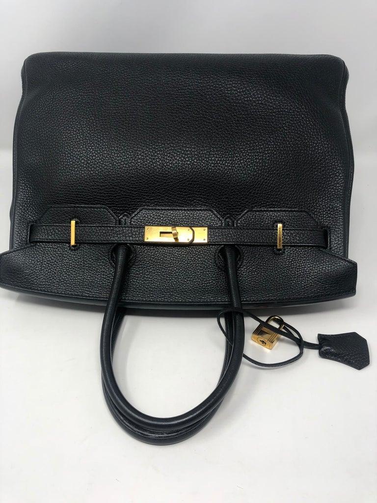 Hermès Birkin Black 35 GHW  For Sale 2