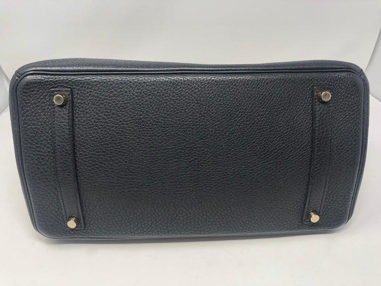 Hermès Birkin Black 35 GHW  For Sale 3